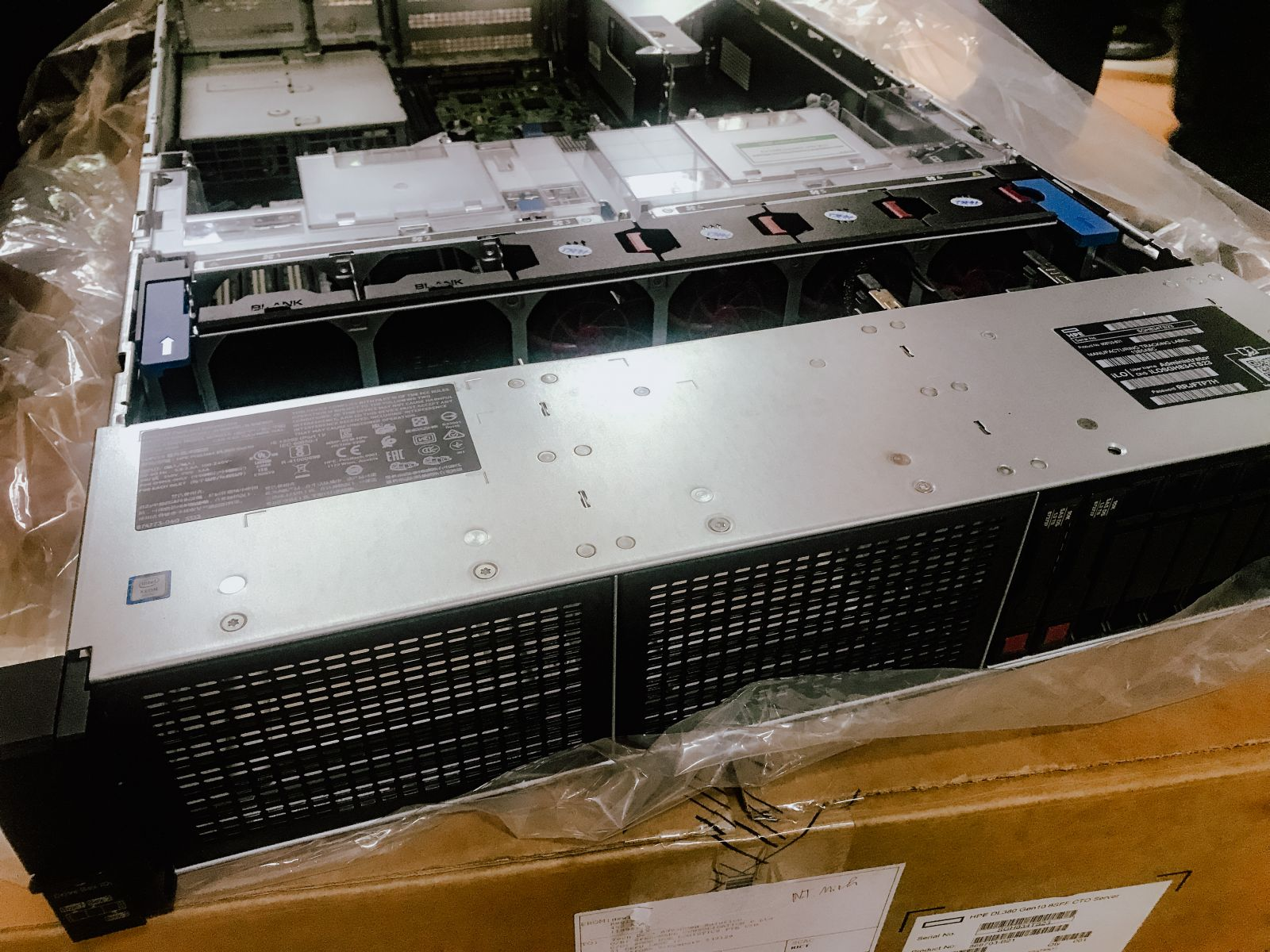 Review Server Hpe DL380 Gen10 - Nhật Thiên Minh