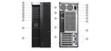 Máy tính Dell Precision 7820 tại NTM JSC