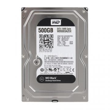 WD Black 500Gb SATA 7200rpm 64M