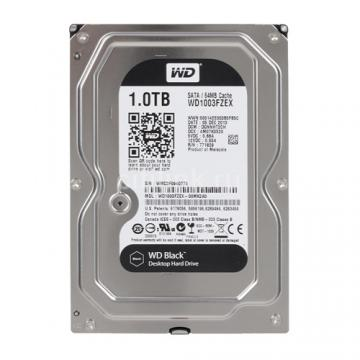WD Black 1TB SATA 7200rpm 64M