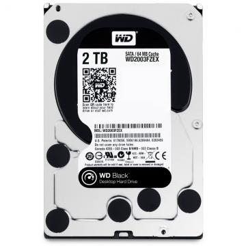 WD Black 2TB SATA 7200rpm 64M